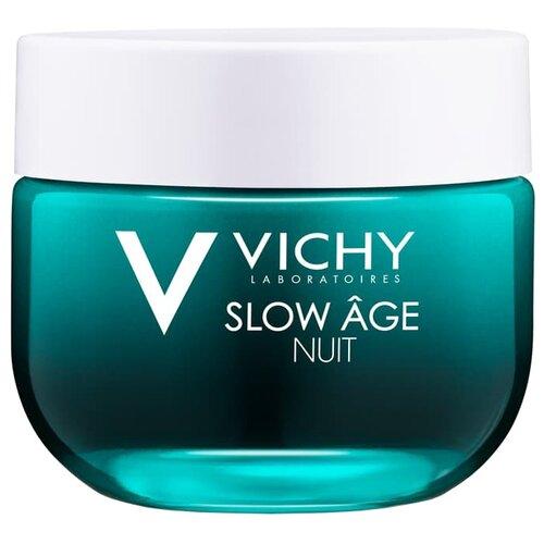 Крем Vichy Slow Age ночной 50 мл тональный крем vichy vichy vi055lwukq70