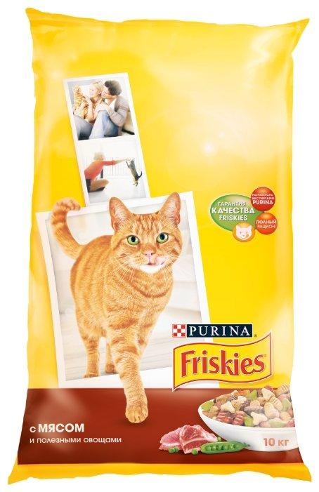 Корм для кошек Friskies с мясом и с овощами