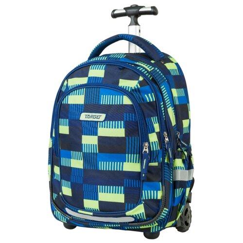 Target Рюкзак-тележка Allover (21424), синий/зеленый target рюкзак тележка скейтер