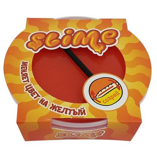 Купить Лизун SLIME Mega меняет цвет на желтый, 300 г (S300-9), Игрушки-антистресс