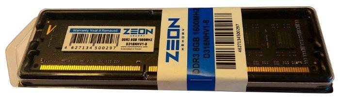 Сравнение с Оперативная память ZEON D316NHV1-8