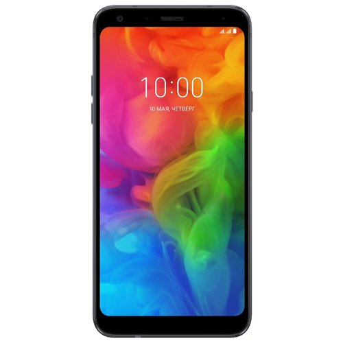 Смартфон LG Q7 черный  - купить со скидкой