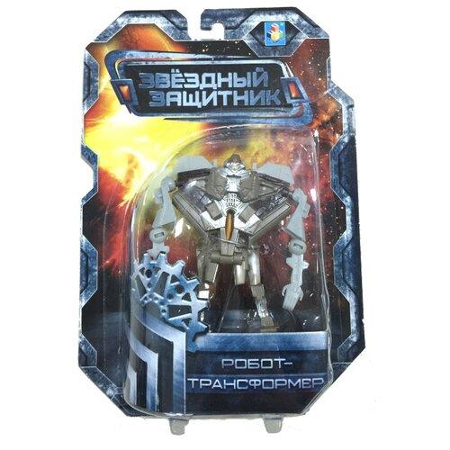 Трансформер 1 TOY Звездный защитник Истребитель серый