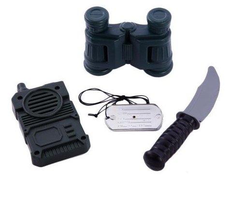 Игровой набор Little Zu Военный 90037F
