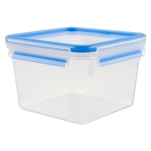 EMSA Контейнер CLIP & CLOSE квадратный 508537 синий/прозрачный emsa контейнер optima 513555 белый прозрачный