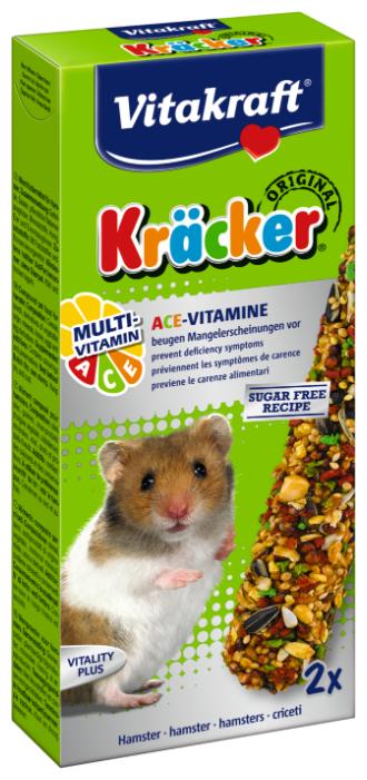 Лакомство для грызунов Vitakraft Крекеры Original Multi Vitamin