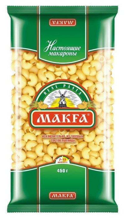 Макфа Макароны Улитки рифленые, 450 г