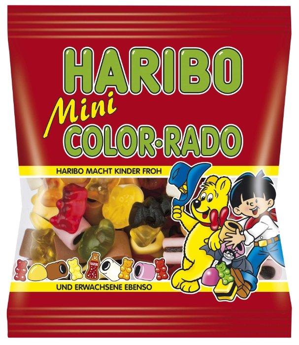 Мармелад жевательный Haribo Color-Rado mini с лакрицей, какао и кокосовой прослойкой, 175 г