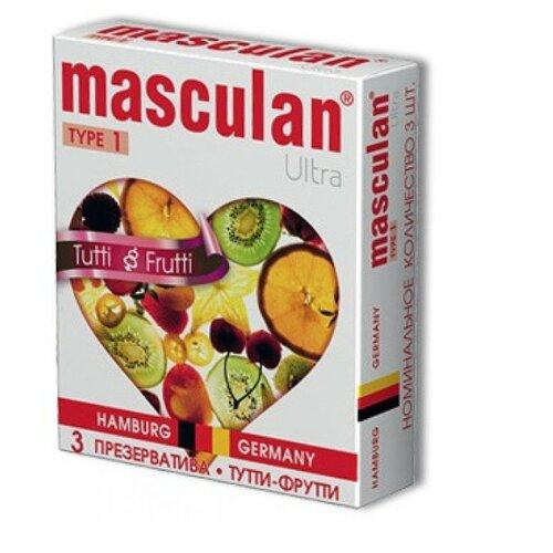 Презервативы masculan Ultra Tutti-Frutti (3 шт.) цена 2017