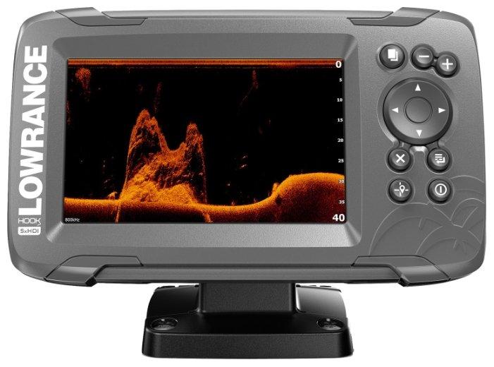Эхолот LOWRANCE Hook2-5x GPS с датчиком Splitshot