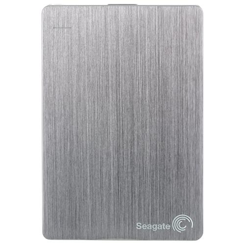 Внешний HDD Seagate Backup Plus Slim Portable Drive 2 ТБ серебристый