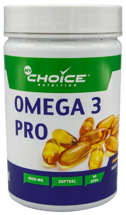 Рыбий жир MyChoice Omega 3 Pro 1000mg (90 капсул)