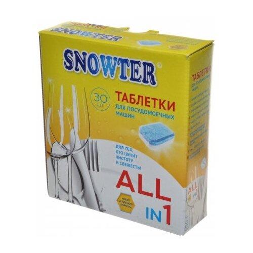 Snowter 5 в 1 таблетки для посудомоечной машины 30 шт.Для посудомоечных машин<br>