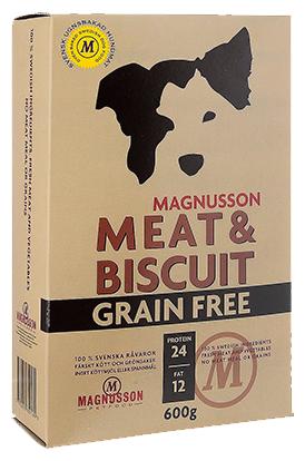 Корм для собак Magnusson Meat & Biscuit Grain Free