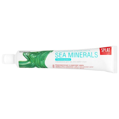 Зубная паста SPLAT Special Sea Minerals, мята 75 млЗубная паста<br>