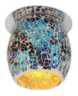Встраиваемый светильник De Fran FT 867 b, хром / бело-голубой