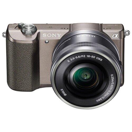Фотоаппарат Sony Alpha ILCE-5100 Kit бронзовый E PZ 16-50mm f/3.5-5.6 OSS NP-FW50