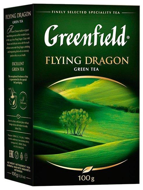 "Чай Greenfield ""Flying Dragon"", зеленый листовой, 100 гр"