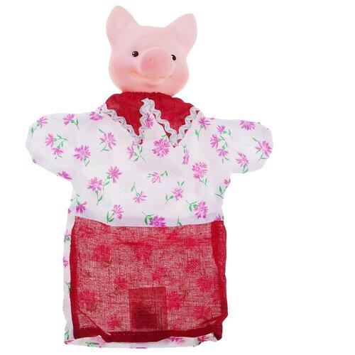 Фото - ОГОНЁК Кукла-перчатка Поросенок (С-1175) кукла огонёк арина с веснушками
