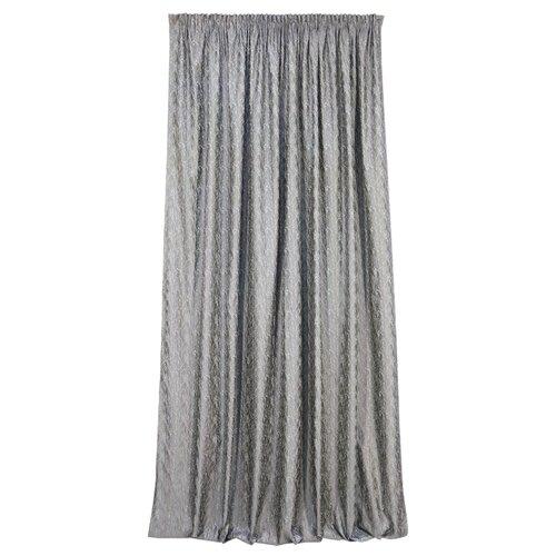 Комплект Kauffort Rosemary на тесьме 270 см серый комплект штор kauffort rosemary