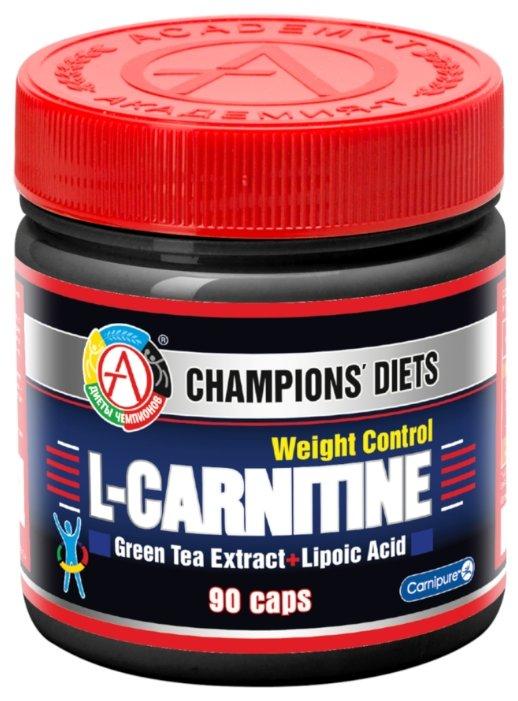 Комплекс для повышения энергоснабжения, жиросжигания, восстановления после тренировок Академия-Т Карнитин комплекс L-Carnitine Weight Control