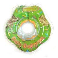 Круг на шею Baby Swimmer 0m+ (3-15 кг) Гламур мятный пончик