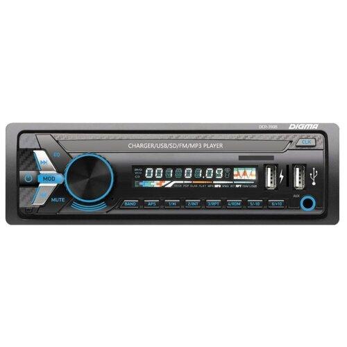 Купить Автомагнитола Digma DCR-390B, черная