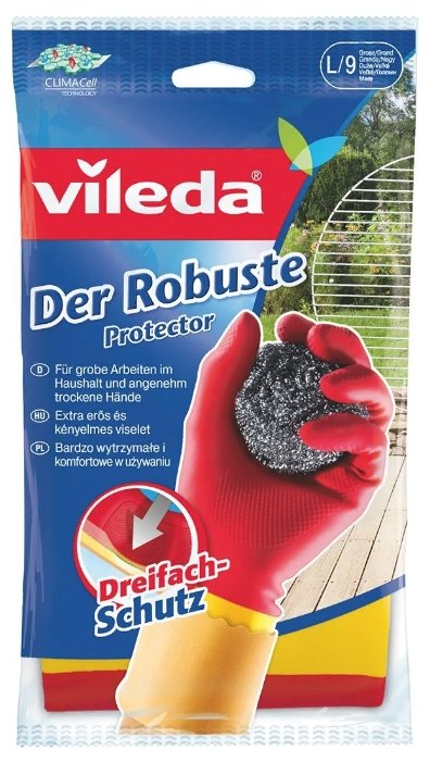Перчатки Vileda Protector