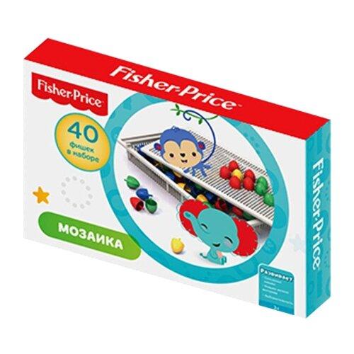 Fisher-Price Мозаика 40 элементов (Н-779)Мозаика<br>