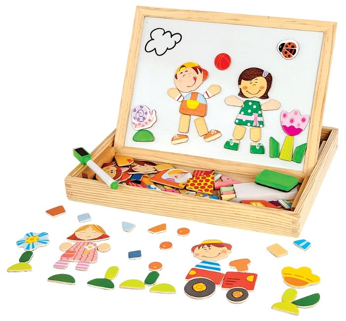 Доска для рисования детская Mapacha Чудо-чемоданчик Друзья (76643)