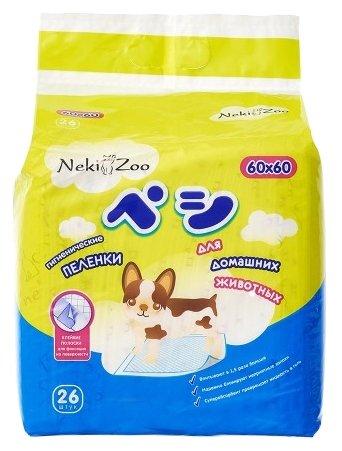 Пеленки для собак впитывающие Maneki NekiZoo 60х60 см
