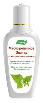 Купить Эвалар Масло репейное с экстрактом крапивы, 100 мл по низкой цене с доставкой из Яндекс.Маркета