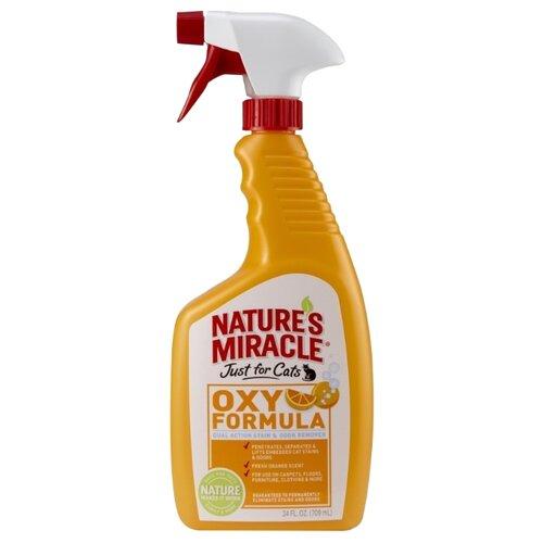 Спрей Nature's Miracle уничтожитель пятен и запахов от кошек Orange-Oxy Formula 709 мл