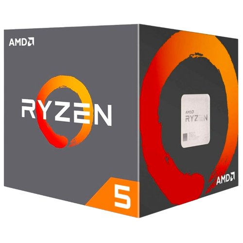Процессор AMD Ryzen 5 2600 BOX процессор amd ryzen 5 1400 socketam4 box [yd1400bbaebox]