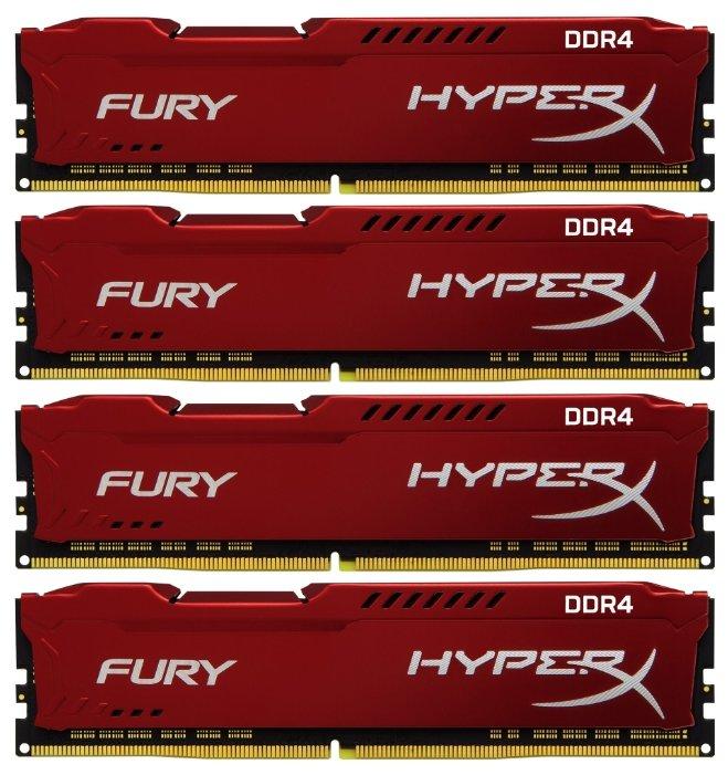 Сравнение с Оперативная память HyperX HX426C16FR2K4/32