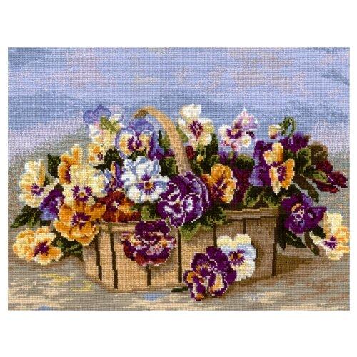 Купить Сделай своими руками Набор для вышивания крестиком Весеннее настроение 39 х 28 см (В-09), Наборы для вышивания