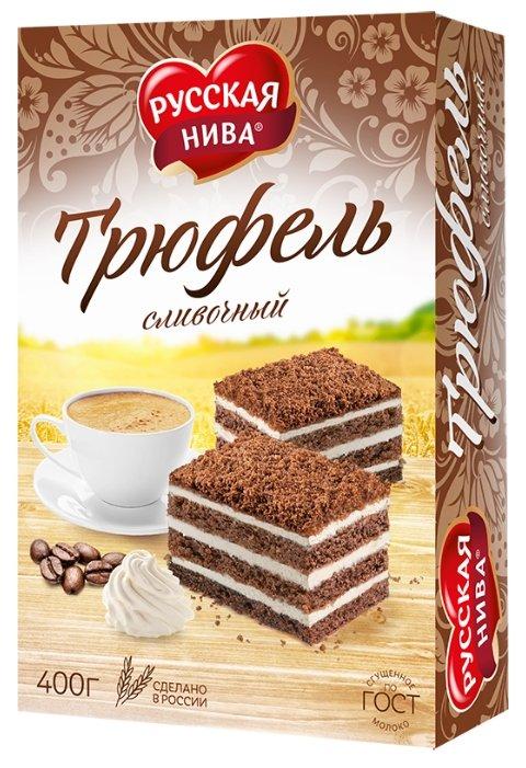 Торт Русская Нива Трюфель Сливочный 400г