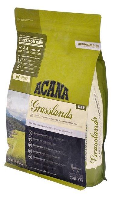 Корм для кошек Acana Regionals Grasslands беззерновой, с ягненком