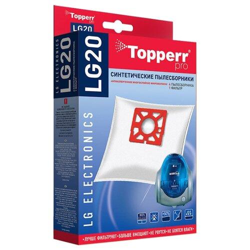 Topperr Синтетические пылесборники LG20 4 шт. недорого