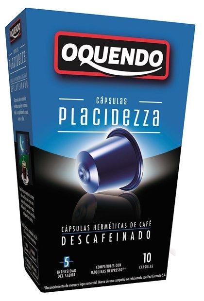 Кофе в капсулах Oquendo Placidezza (10 шт.)