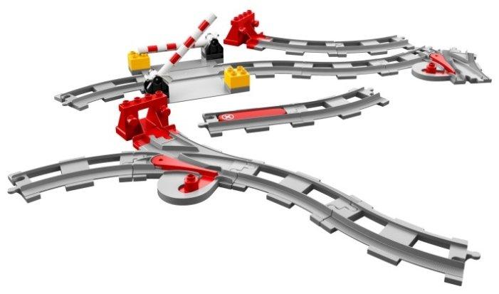 Конструктор LEGO DUPLO 10882 Рельсы и стрелки