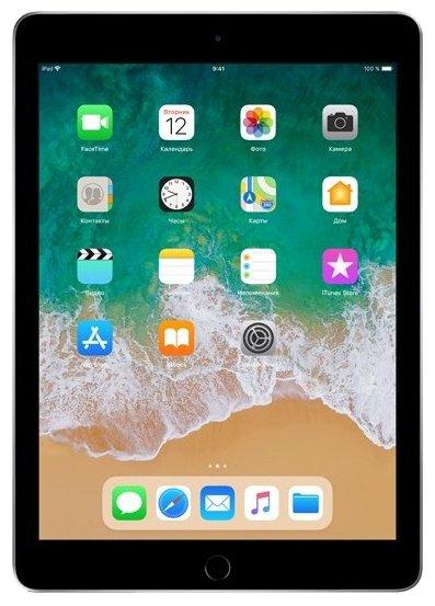 Планшет Apple iPad (2018) 128Gb Wi-Fi space gray