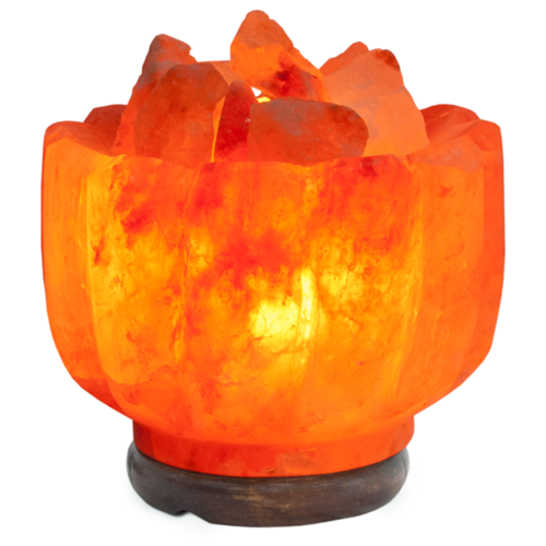 Солевая лампа Stay Gold Ваза с камнями (с диммером)