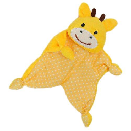 Фото - Комфортер Крошка Я Жирафик Митя желтый комфортер крошка я кот василий желтый белый