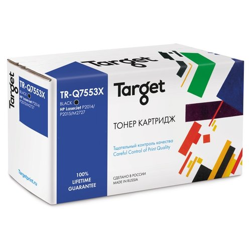 Фото - Картридж Target TR-Q7553X, совместимый картридж target tr 106r02773