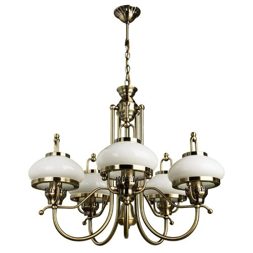 Люстра Arte Lamp Armstrong A3560LM-5AB, E27, 300 Вт люстра arte lamp barbara a6066pl 5ab e27 300 вт