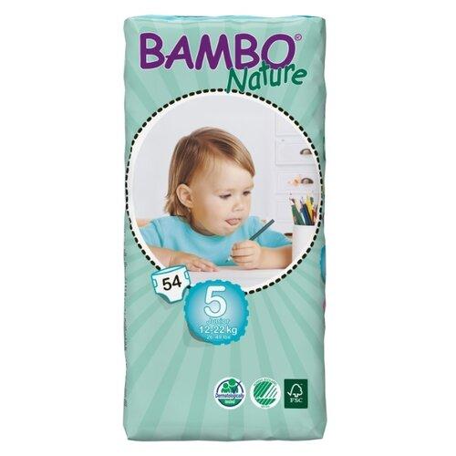 Купить BAMBO подгузники Nature Maxi+ (12-22 кг) 54 шт., Подгузники