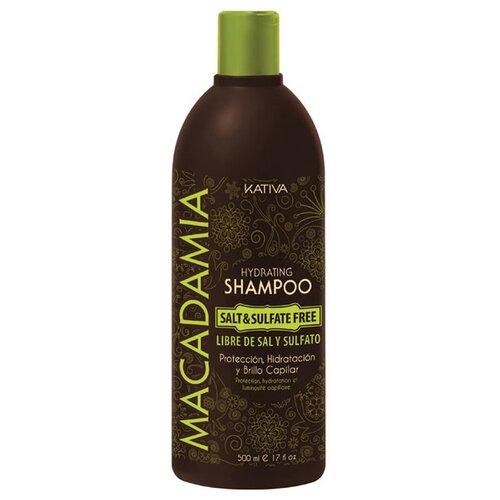 Kativa шампунь Macadamia 500 мл шампунь коллагеновый kativa