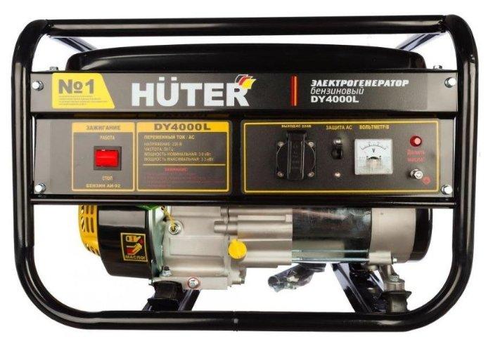 Бензиновый генератор Huter DY4000L (3000 Вт)