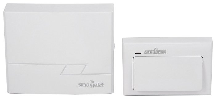 Звонок с кнопкой Мелодика Б200 электронный беспроводной (количество мелодий: 3)